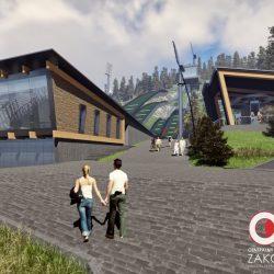 Projekt Średnia Krokiew - Zakopane